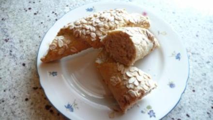 Nußhörnchen für das gesunde Frühstück - Rezept
