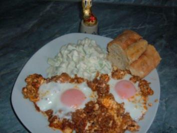 Rezept: Eier im Hackfleisch-Nest