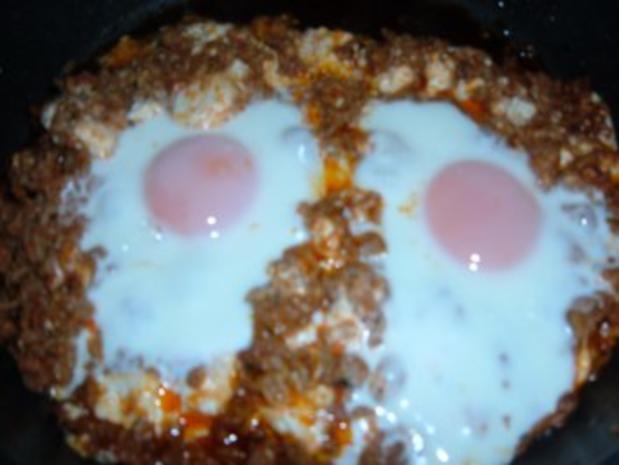 Eier im Hackfleisch-Nest - Rezept - Bild Nr. 3