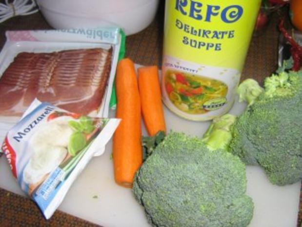 Broccoli-Karotten-Schinken Auflauf - Rezept - Bild Nr. 2