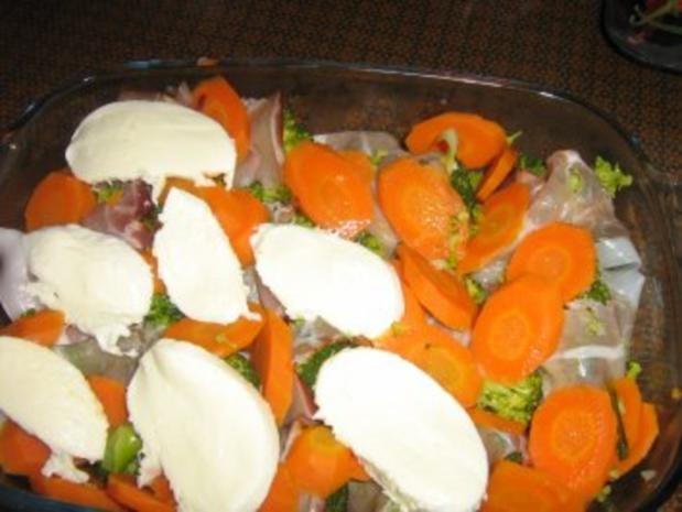 Broccoli-Karotten-Schinken Auflauf - Rezept - Bild Nr. 4