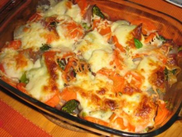 Broccoli-Karotten-Schinken Auflauf - Rezept - Bild Nr. 6