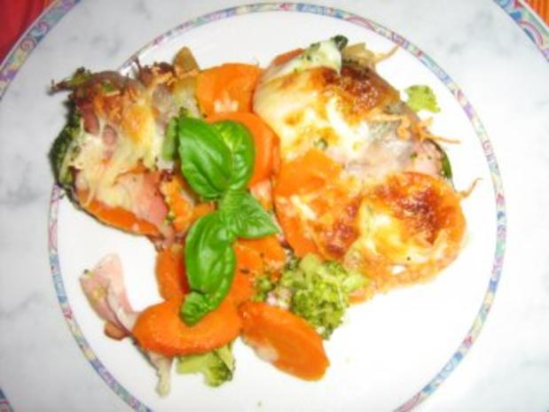 Broccoli-Karotten-Schinken Auflauf - Rezept - Bild Nr. 7