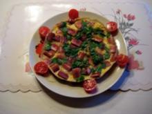 Eierpfannkuchen mit Pfiff - Rezept
