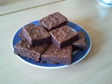 Brownies mit Rum - Rezept