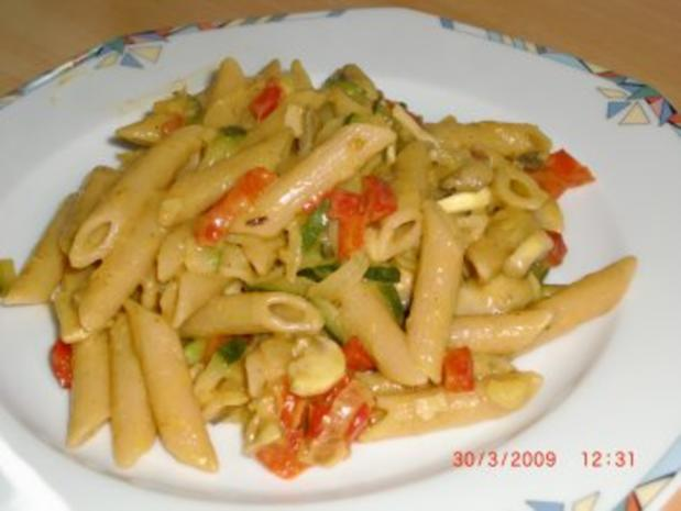 Curry-Nudel-Pfanne - Rezept - Bild Nr. 2