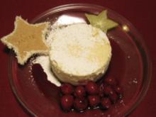 Hollywood Cheesecake mit warmen Kirschen - Rezept