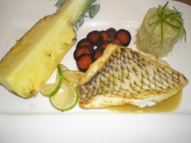 Papageienfischfilet mit orientalischer Note - Rezept