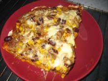 Mexikanische Pizza - Rezept