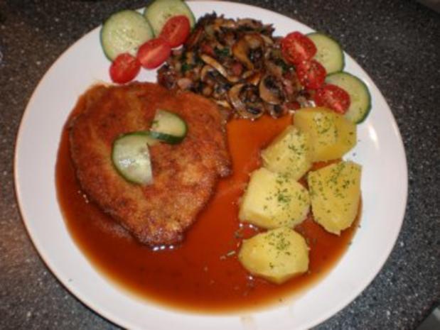 Schnitzel aus Hähnchenbrust - Rezept - Bild Nr. 4