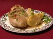Kohlrouladen mit Kartoffelbrei und Kalbsbraten (Johanna Jacob) - Rezept