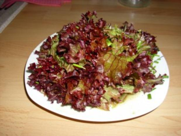Blattsalat Riadna - Rezept