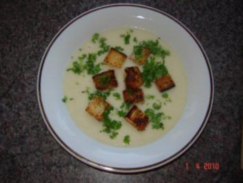 Suppen : Einfache Blumenkohlsuppe - Rezept