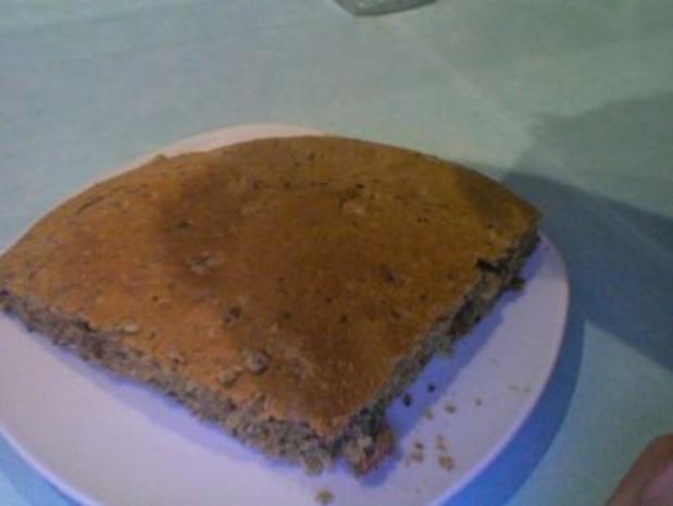 Walnuss Kürbiskern Dinkelkuchen - Rezept