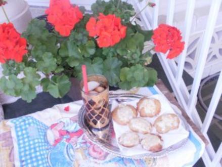 Gebaeck- Florida frisches Orangen Gebaeck - Schnell gebacken mit frischen Orangen - Rezept