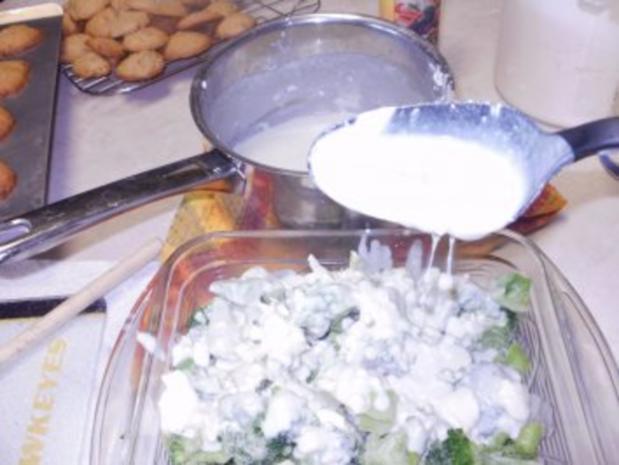 Broccoli - Blauer Kaese Broccoli Casserole -  Einfaches Gemuesse mal Elegant mit Blue Cheese - Rezept - Bild Nr. 5