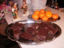 Schokolade - Amerikanischer Schokolade Fudge - Das ist die #1 Suessigkeit in Amerika- kommt in verschiedenen Sorten - Rezept