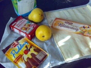 Backen: Birnentarte mit Schokocreme - Rezept