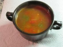 Meine hausgemachte Goulaschsuppe - Rezept
