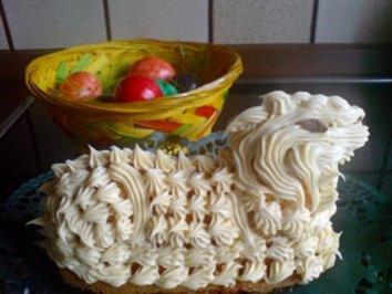 Rezept: Kuchen  Osterlamm