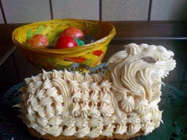 Kuchen  Osterlamm - Rezept