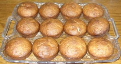 Kleingebäck - Orangen-Kokos-Muffins - Rezept