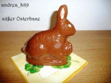 Süßer Osterhase - Rezept