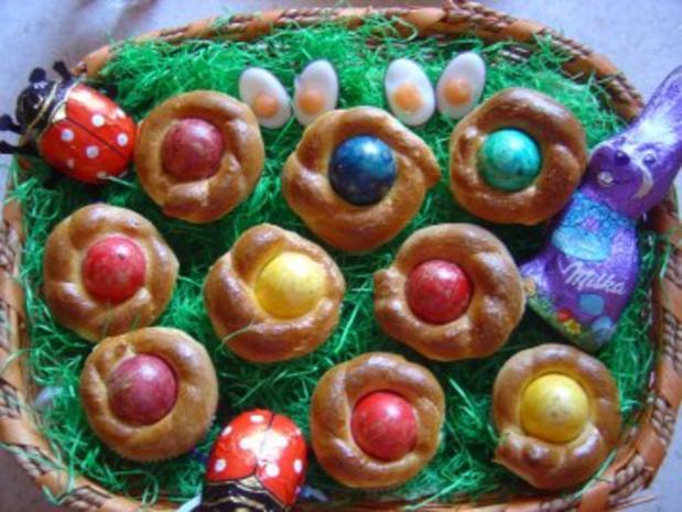 Oster-Eier-Muffin-Nest - Rezept - Bild Nr. 2