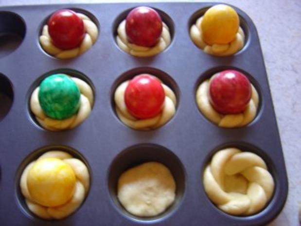 Oster-Eier-Muffin-Nest - Rezept - Bild Nr. 8