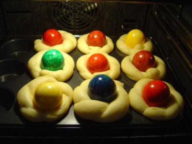Oster-Eier-Muffin-Nest - Rezept - Bild Nr. 9