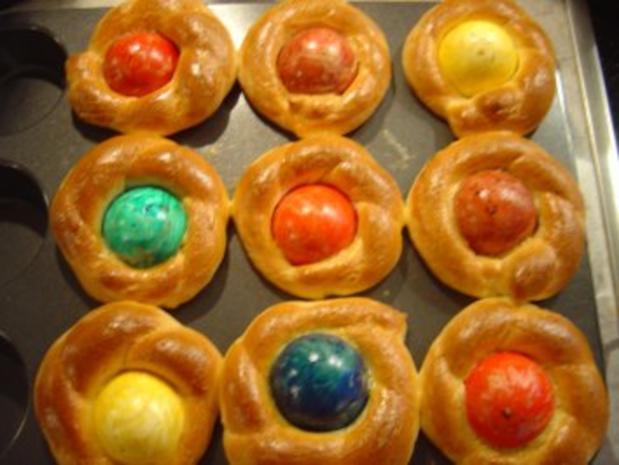 Oster-Eier-Muffin-Nest - Rezept - Bild Nr. 10