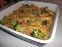 Lachs-Broccoli-Gratin - Rezept