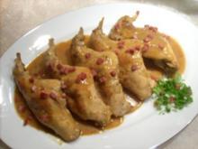Senf-Kaninchenkeulen - Rezept