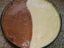 Schoko-Vanille-Creme im Duett - Rezept
