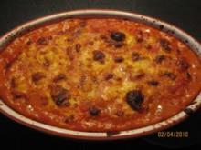 Spinat Ricotta Cannelloni in Tomatensoße - Rezept