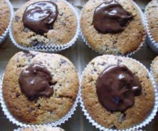 Haselnuss-Schokoladen-Muffins - Rezept