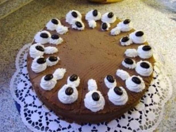 Schokoladen-Sahne-Torte - Rezept