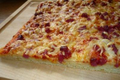 Pizzabrot deluxe - Rezept