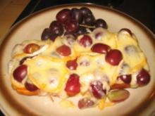 Brotzeit/ Snack: Frucht Toast - Rezept