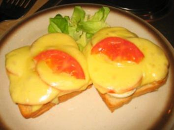 Brotzeit/ Snack:Eier Toast! - Rezept