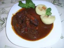 Merlot-Lammgulasch - Rezept