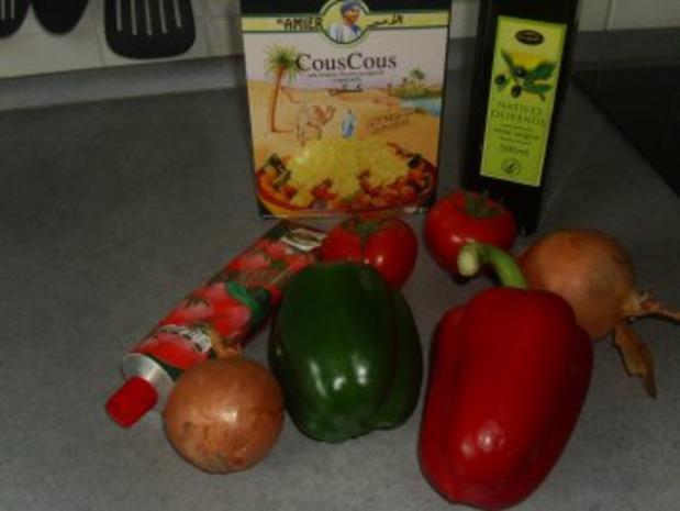 Salate: Couscous-Salat ( Türkische kisir ) - Rezept - Bild Nr. 2