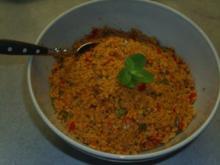 Salate: Couscous-Salat ( Türkische kisir ) - Rezept