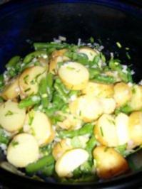 Salat aus neuen Kartoffeln und grünen Bohnen WW-Rezept - Rezept