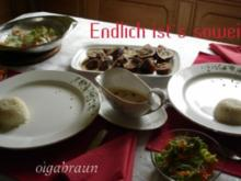 Kalbfleischrolle aus meiner Versuchsküche - Rezept