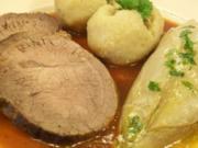 Sauerbraten von der deutschen Färse - Rezept