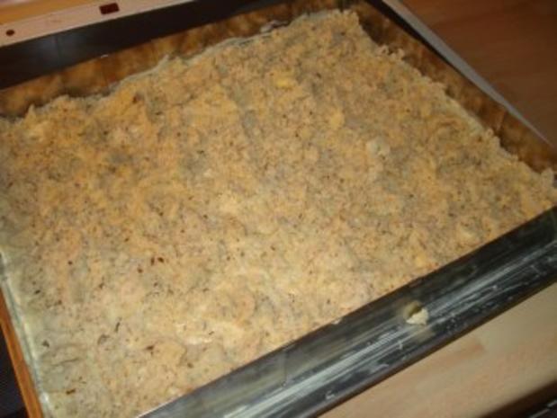 Apfelkuchen mit Streuseln - Rezept