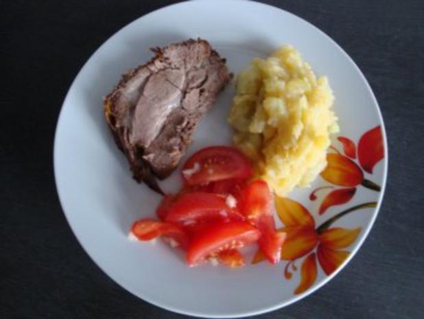 Warmer Kartoffel-Gurken-Salat - Rezept