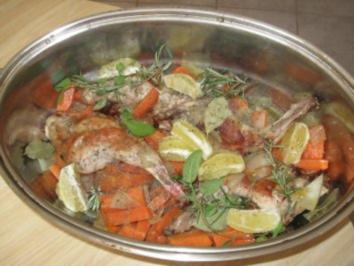 Kaninchen Italienisch - Rezept