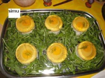 Sulzeier im Nest - Rezept
